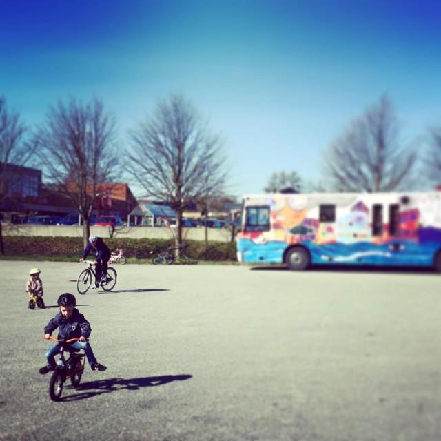Sådan lærer du dit barn at cykle