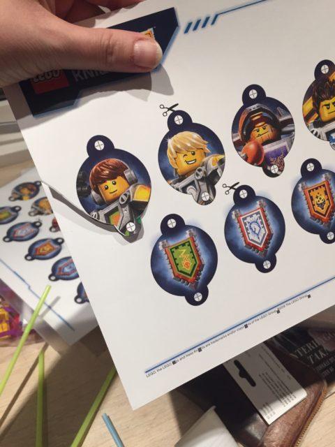 Drengefødselsdag med LEGO Nexo Knights tema